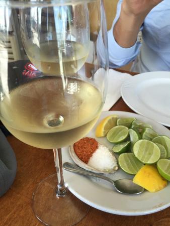 Muelle3: Vino blanco