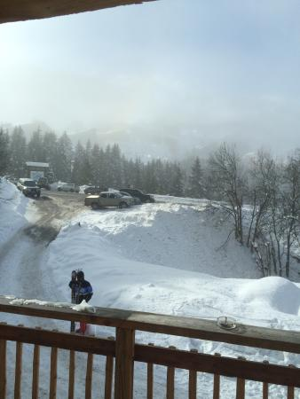 Chalet Cretet : View from Balcony of nearby slope