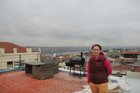 Galata Tower VIP Apartment Suites: вид с веранды