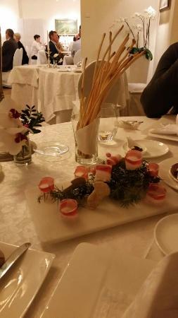 Restaurant Kuppelrain: 1. Gruß aus der Küche...