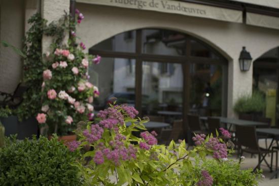 Restaurant Auberge de Vandoeuvres: La terrasse