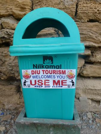 St. Paul's Church : Keep Diu clean