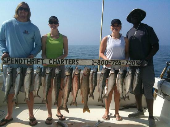 Chicago fishing charters bild fr n spendthrift charters for Waukegan fishing charters