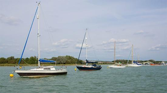 Portchester, UK: Deepwater Swinging Moorings at WicorMarine Yacht Haven