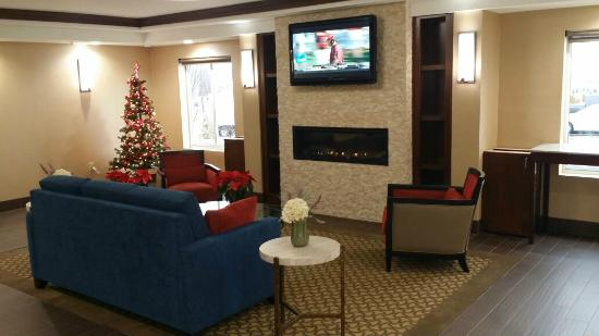 Comfort Inn Airport: Newly Renovated Lobby