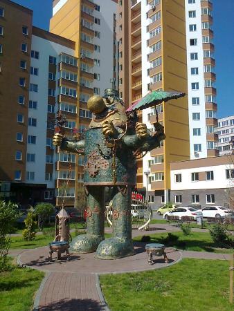 Gromozeka Monument