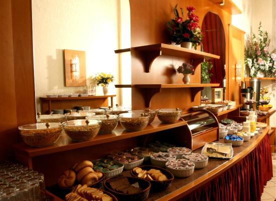 هايدن هوتل: Frühstücksbuffet