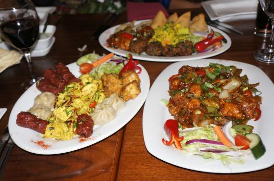 Newari platter picture of jojolapa nepalese bar for Food bar menu birmingham