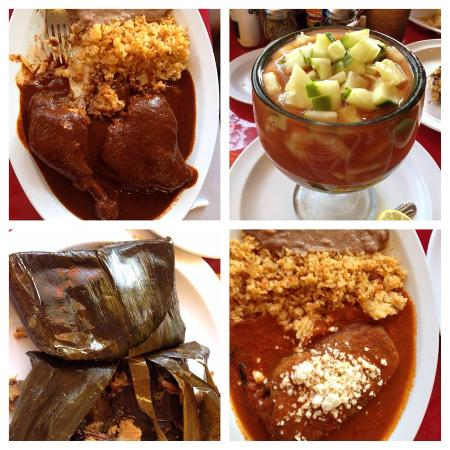Restaurant Oaxaca: Different Dishes