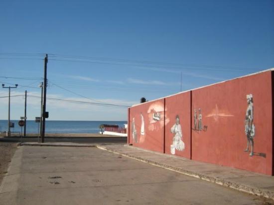 Bahia Kino, Mexico: Mural en Museo Comcaac