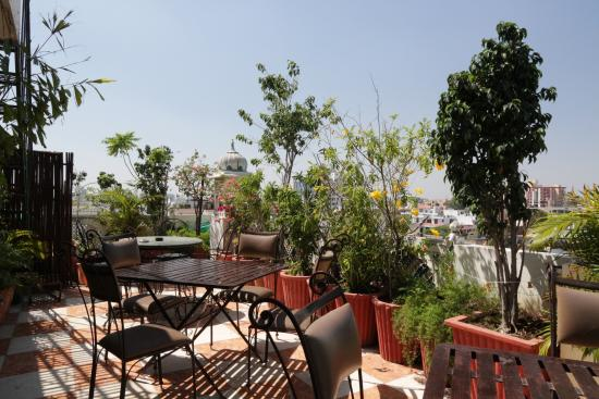Sunder Palace Guest House: Rooftop