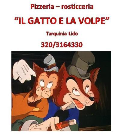 Menù Foto Di Pizzeria Il Gatto E La Volpe Tarquinia Tripadvisor