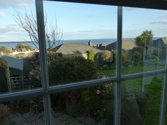 Glenorney by the Sea: Blick durchs Fenster