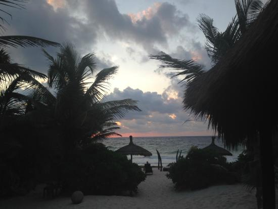 Sunrise at Playa Mambo