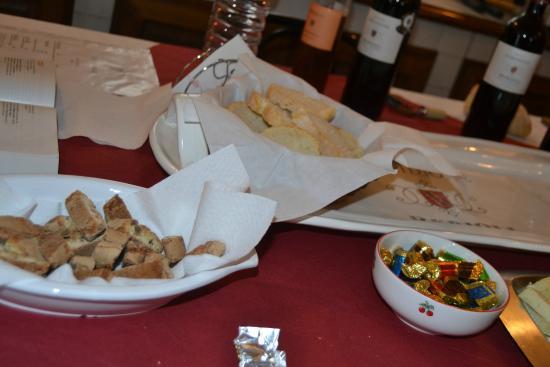 Cantina Berioli: Degustando round uno