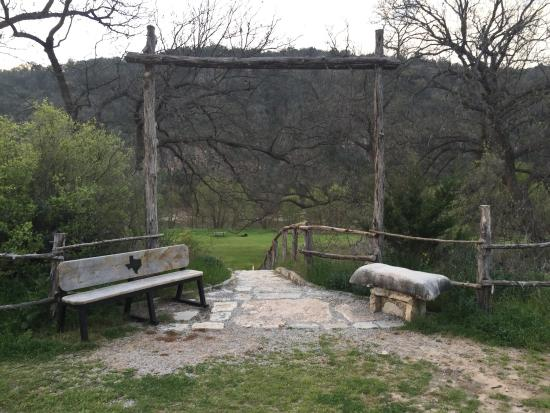 Colorado Bend State Park Stairway to walk tent sites & Site 10 walk in tent - Picture of Colorado Bend State Park Bend ...
