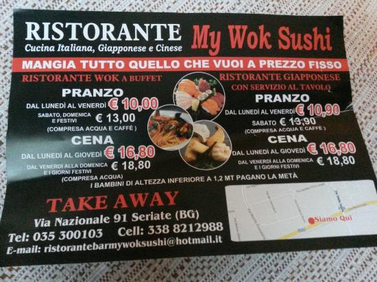 Seriate, Italien: My Wok