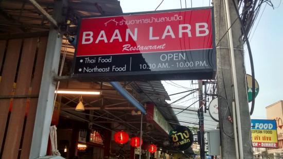 Baan Larb Restaurant