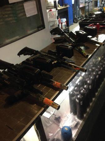Battleground Orlando: The lasertag guns