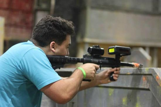 Battleground Orlando: While playing Lasertag