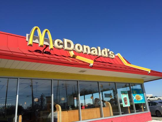 Front Of Mcdonalds Building Bedford In Picture Of