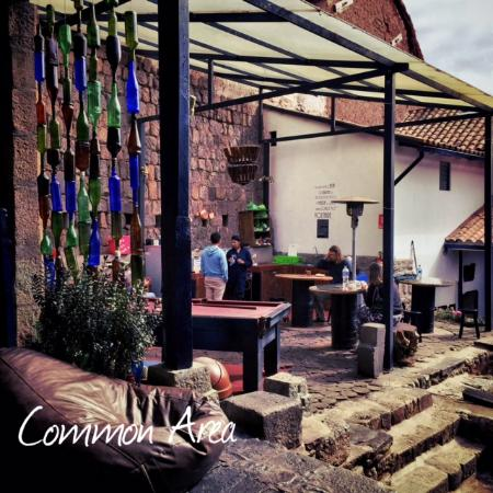 Intro Hostels Cusco: Common Area with kitchen area