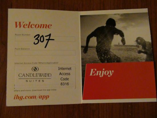 Candlewood Suites Fort Stockton: Room