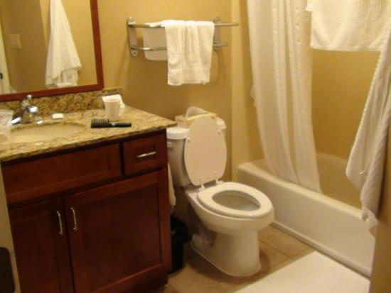 Candlewood Suites Fort Stockton: Bathroom