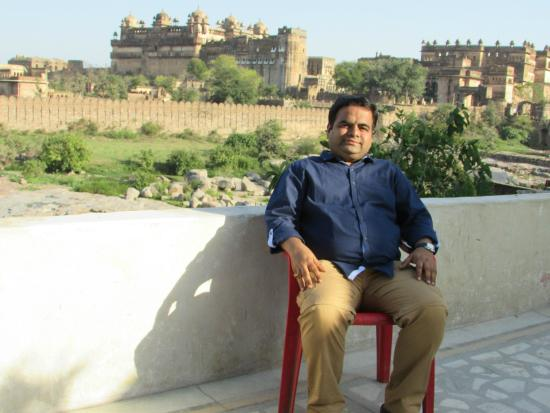 Fort View Guest House: Orchha fort view