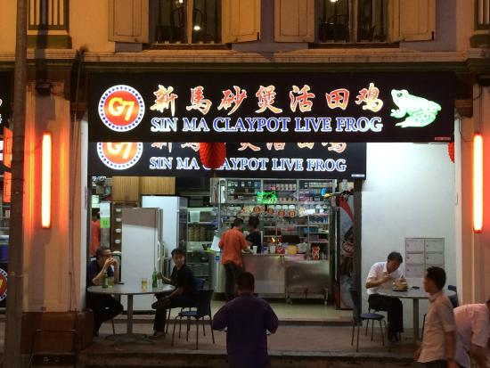 G7 Sin Ma Live Seafood Restaurant: The place!