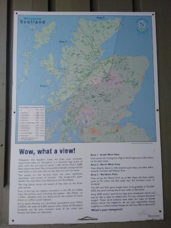 Map Of Bonnie Scotland Picture Of Cairngorm Mountain Aviemore