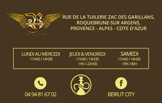 BEIRUT CITY CARTE DE VISITE