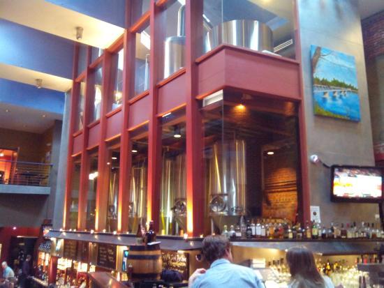 Triumph Brewing Company : Внутри