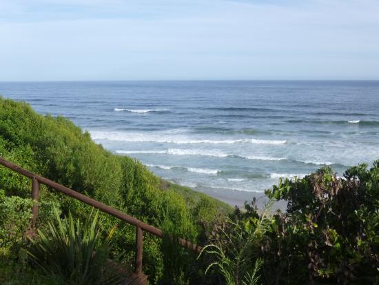 Dolphin Dunes Guesthouse : Meerblick vom Zimmer