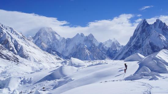 Gilgit-Baltistan, Pakistan: 2 hours before Concordia
