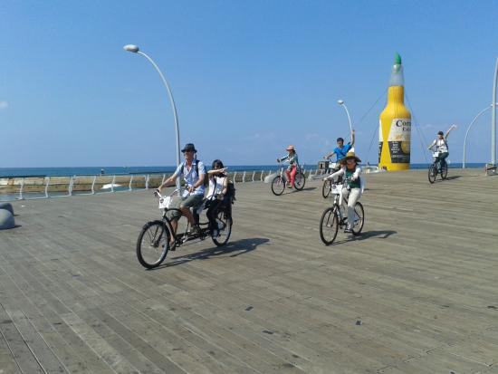 TLV Bike tours: Tel Aviv Port