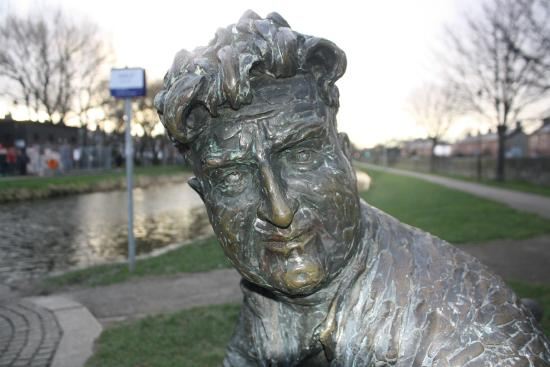Brendan Behan Sculpture