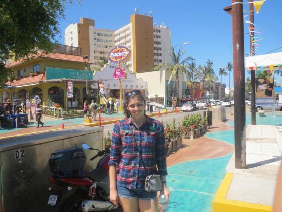 Mazatlan Tours: In the Golden Zone shopping area.