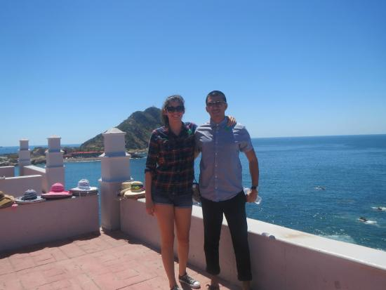 Mazatlan Tours: At the Vigia Hill look out, with the lighthouse behind us.