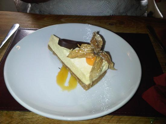 Silver Plough: Cheesecake of the day.