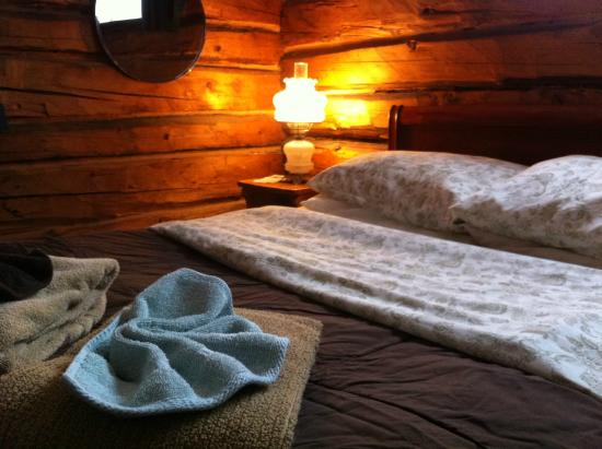 Talkeetna Roadhouse: Room 5 is in the most historic, log part of the Roadhouse