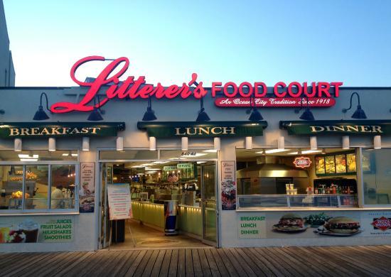 Ocean City Nj Food Court
