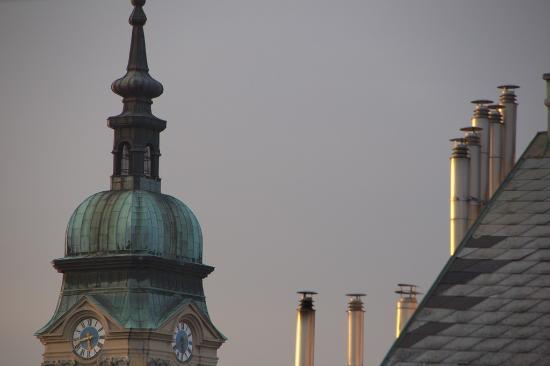 """Hotel Tabor: Suprerbe vue de la """"terrasse"""""""