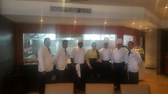 InterContinental Maracaibo : Conozcan al excelente equipo del nuevo restaurante Arrosto grill house ,si desean calidad en su