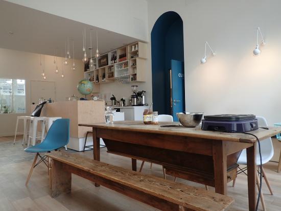 pancakes picture of slo living hostel lyon tripadvisor. Black Bedroom Furniture Sets. Home Design Ideas
