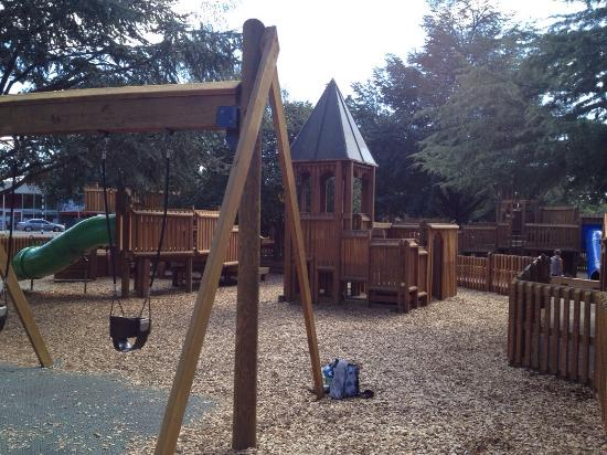 Queen Elizabeth Park : Best playground ever. Lots of fun things to climb and great for little people & slightly bigger