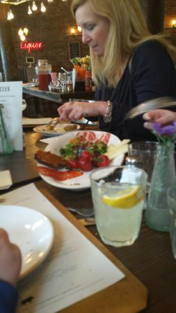 Tasty sharing platter