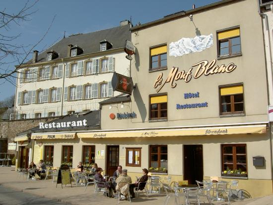 Bouillon, Belgique : Bienvenue au Mont-Blanc