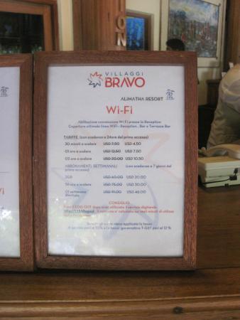 Alimathaa Island: pèrezzi wi-fi
