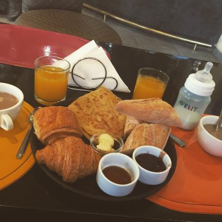 Hotel Fashion: Petit déjeuner